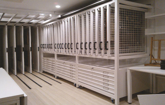 Bespoke Mobile Shelving
