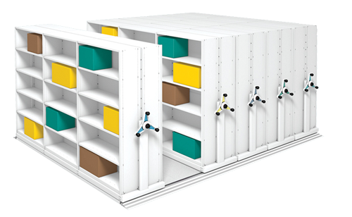 Increased Capacity Mobile Shelving